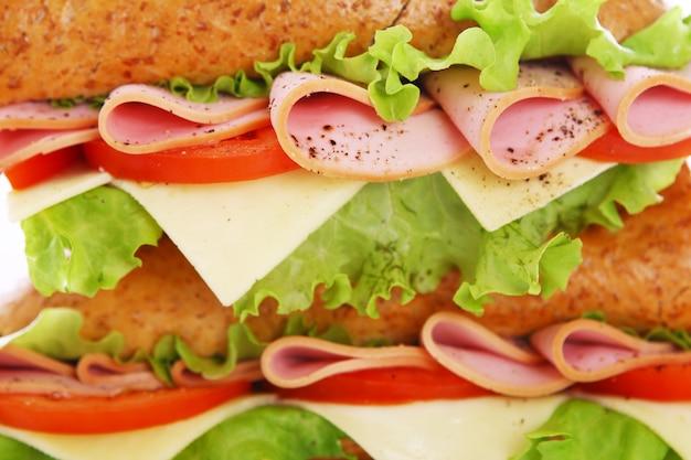Cerca de sandwich fresco Foto gratis