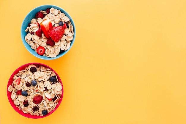Cereales sanos Foto gratis