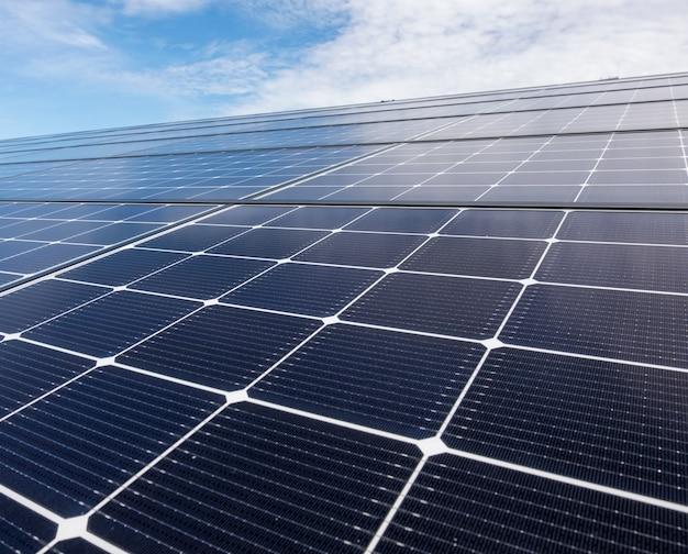 Cerrar techo solar Foto Premium