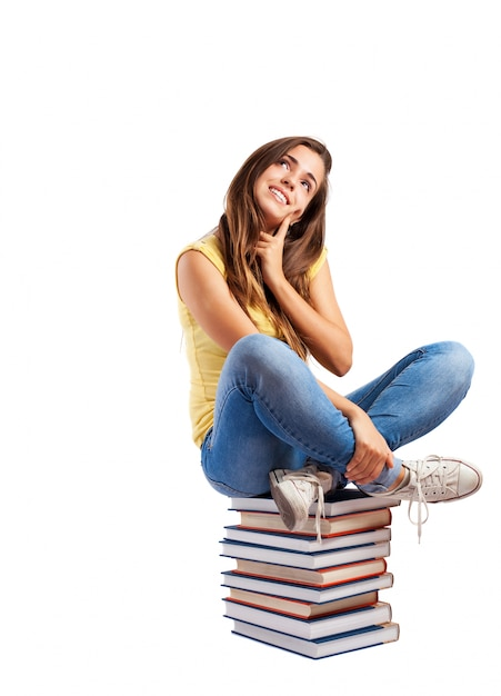 Sentada adolescente gratis