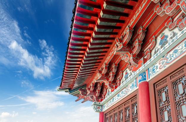 China antiguo edificio local Foto Premium