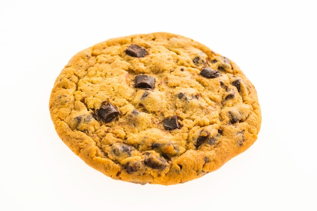 Chips de chocolate galletas y trocitos Foto gratis