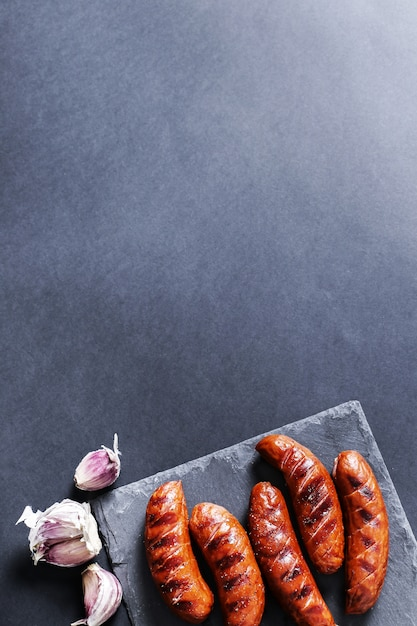 Chorizo a la parrilla Foto gratis