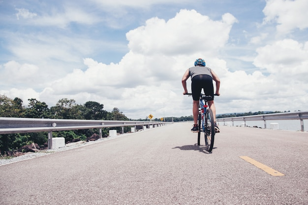 Ciclista Foto gratis