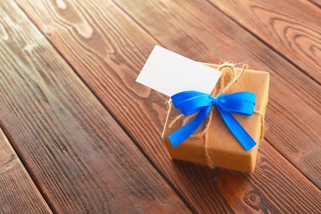 Cierre de regalo del día de padres Foto Premium