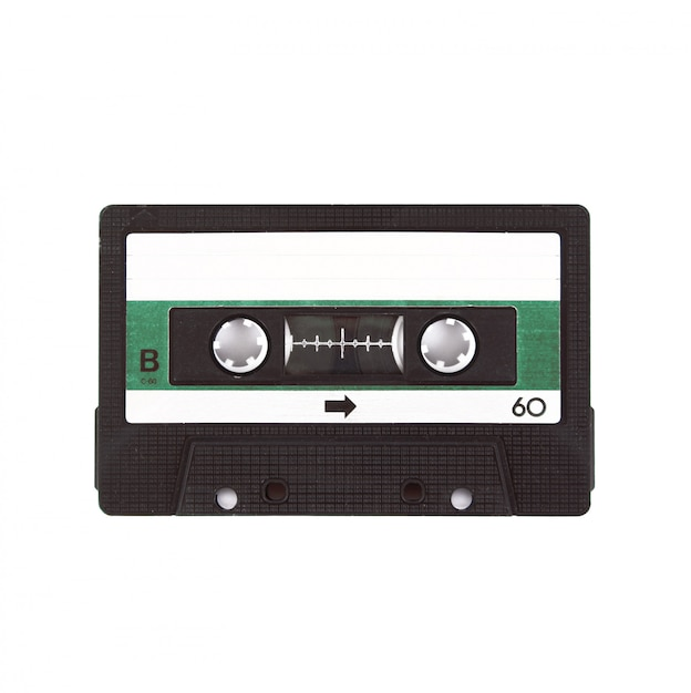 Cinta de cassette de audio Foto Premium