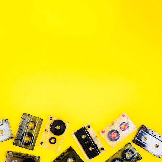 Cintas de casete Foto gratis