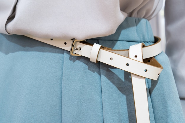 Cinturón de mujer Foto Premium