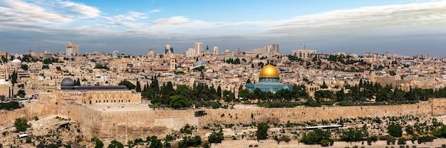 Ciudad de jerusalén en israel Foto Premium