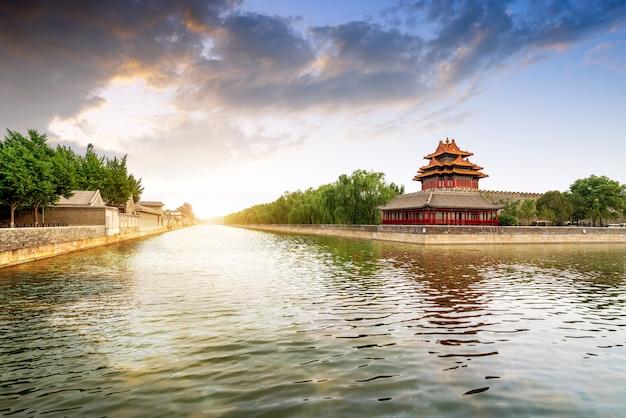 La ciudad prohibida en beijing, china Foto Premium