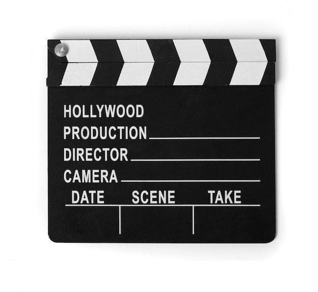 Claqueta de cine Foto gratis