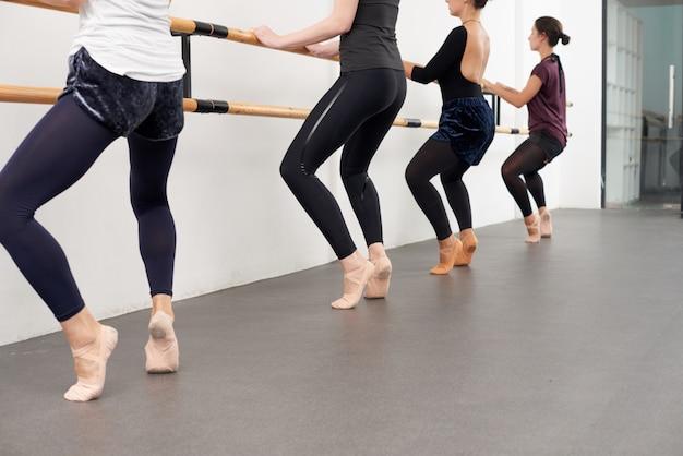 Clase de ballet Foto gratis