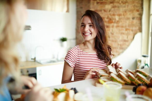 Cocina feliz Foto gratis