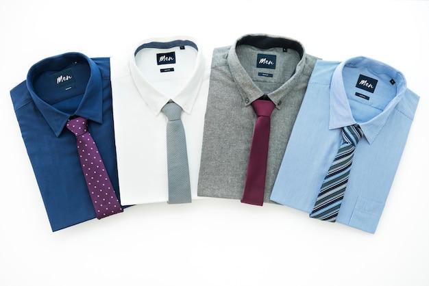 Colección de ropa formal para hombres Foto gratis