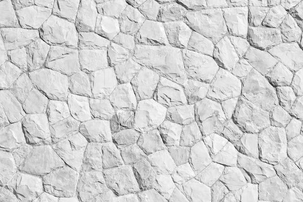 Color gris del patrón de la roca y planta de mos de estilo moderno diseño decorativo desiguales Foto Premium