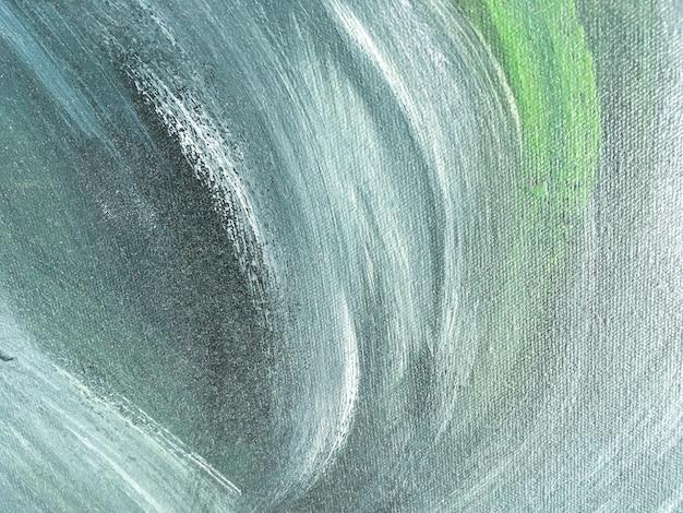 Color verde y azul del fondo del arte abstracto. Foto Premium