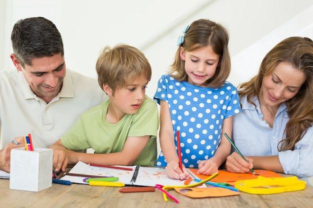 Colorante familiar en casa | Descargar Fotos premium