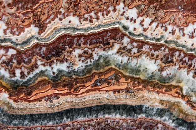 Colorida decoración de ágata mineral natural. Foto gratis
