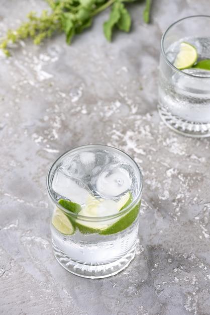 Comida de refresco de limón Foto Premium