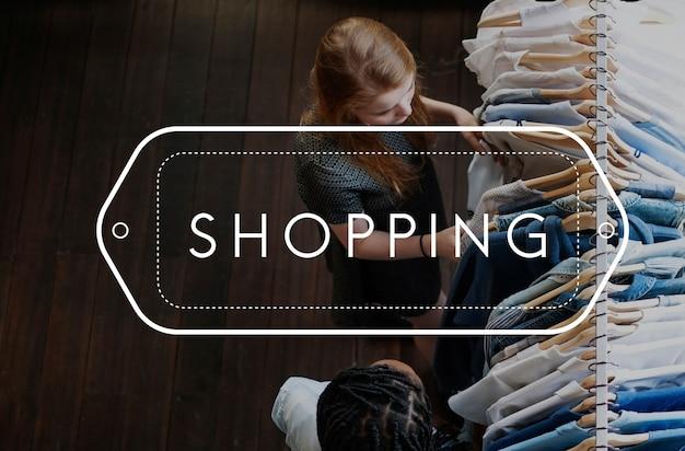 Comprar compras ícono de compras comprando Foto gratis