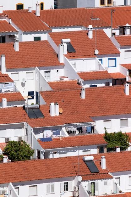 Concentración de la casa en la ciudad de mertola Foto Premium