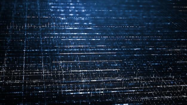 Concepto abstracto del fondo de la tecnología digital Foto Premium