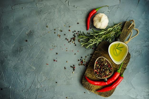 Concepto de comida orgánica Foto Premium