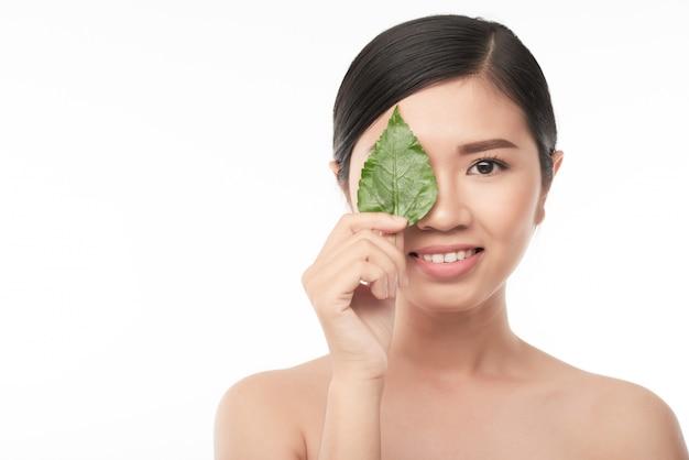 Concepto de cosmética natural Foto gratis