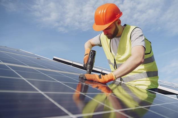 Concepto ecológico de energía alternativa. Foto gratis
