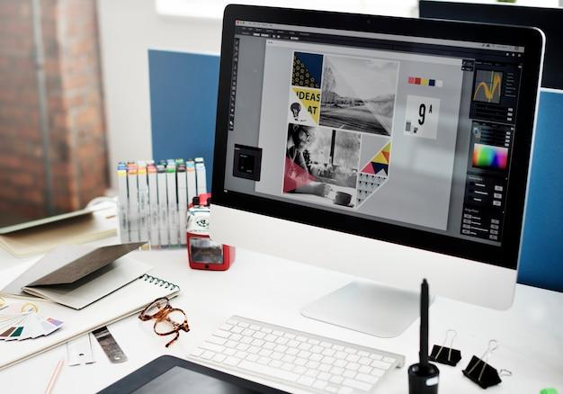 Concepto de estrategia de planificación de estrategia de marketing Foto gratis
