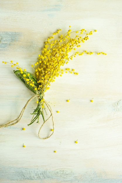 Concepto floral de primavera Foto Premium