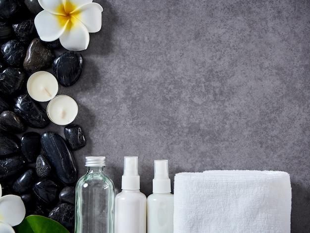 Concepto de masaje spa y cuidado de la piel. Foto Premium