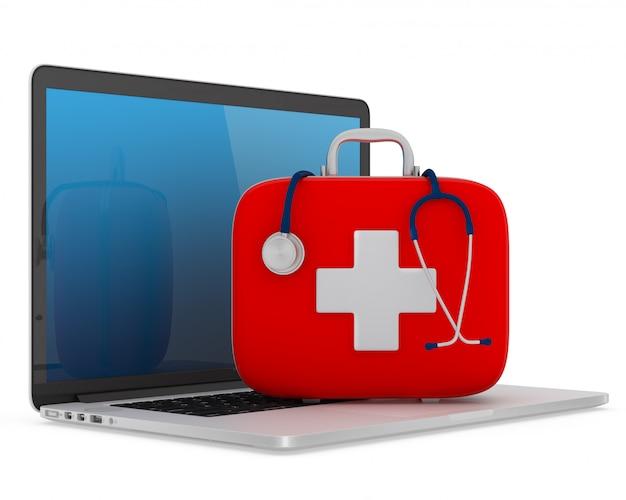 Concepto de servicio de asistencia informática | Foto Premium