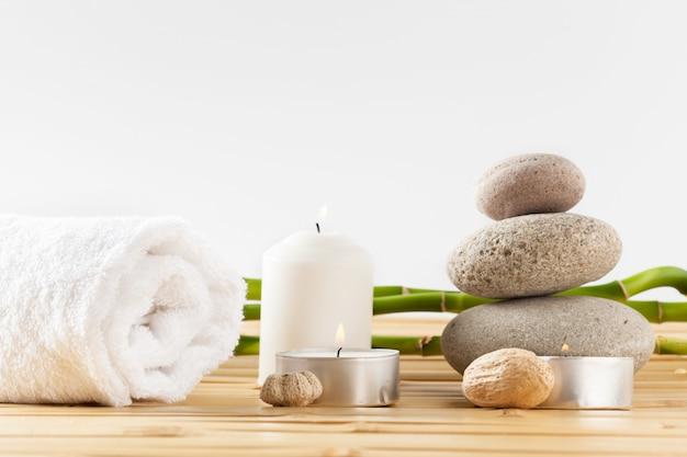 Concepto de spa Foto Premium