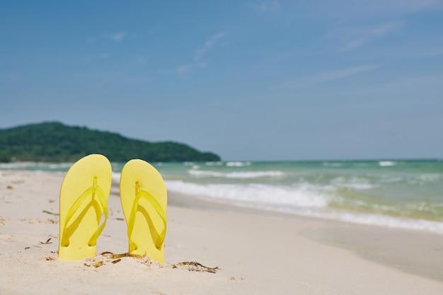 Concepto de vacaciones de verano Foto Premium