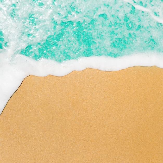 Concepto de verano con espacio de copia. Foto gratis