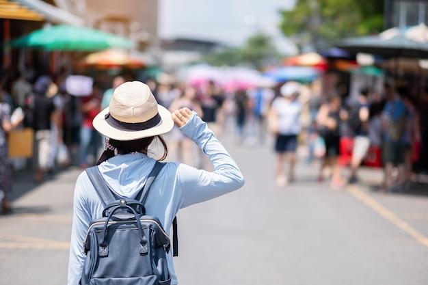 Concepto de viaje de bangkok Foto Premium