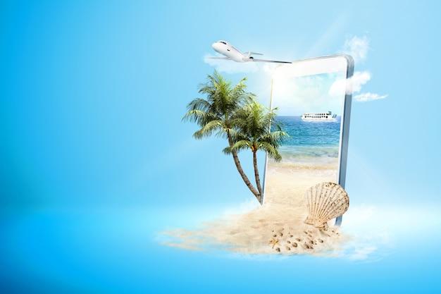 Concepto de viaje Foto Premium