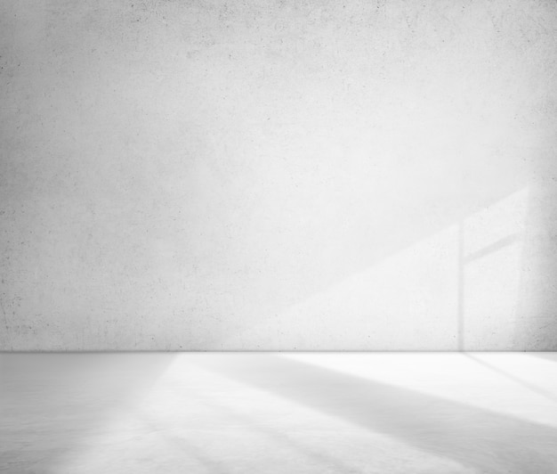 Concrete room corner shadow cement wallpaper concept Foto gratis