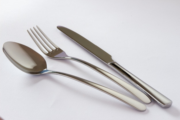 Conjunto De Cubiertos Con Tenedor, Cuchillo Y Cuchara