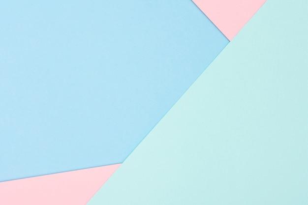Conjunto de hojas de papel pastel Foto gratis
