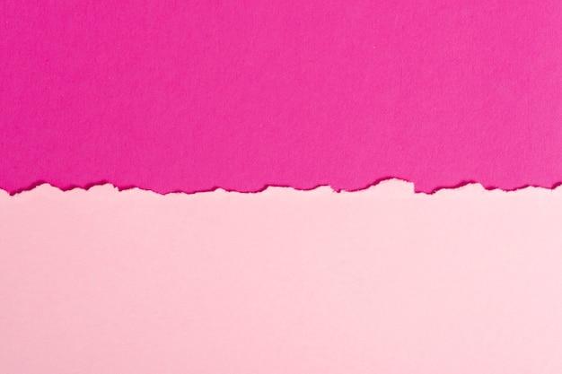 Conjunto de hojas de papel rosa tonificado Foto gratis