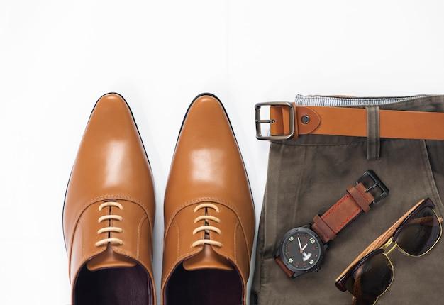 Conjunto de ropa de negocios de hombre de moda Foto Premium