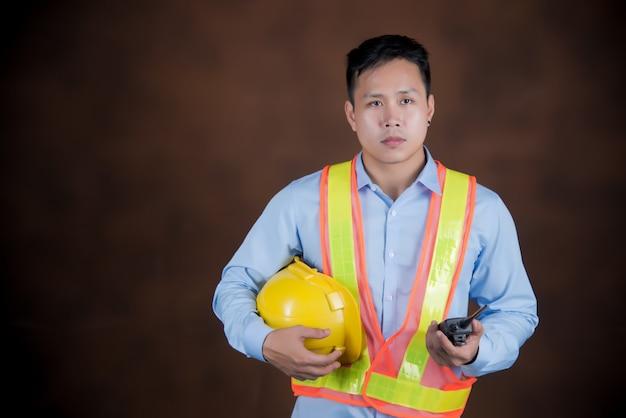 Construcción, ingeniería de concepto de trabajo. Foto gratis