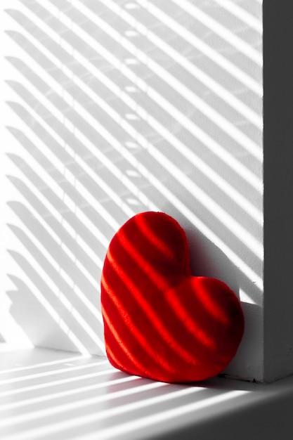 Corazón rojo Foto Premium
