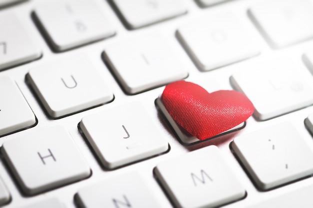 Coraz n sobre el teclado de un ordenador descargar fotos - Foto teclado ordenador ...