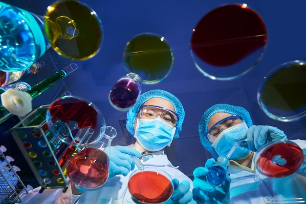 Creación de una nueva vacuna Foto gratis