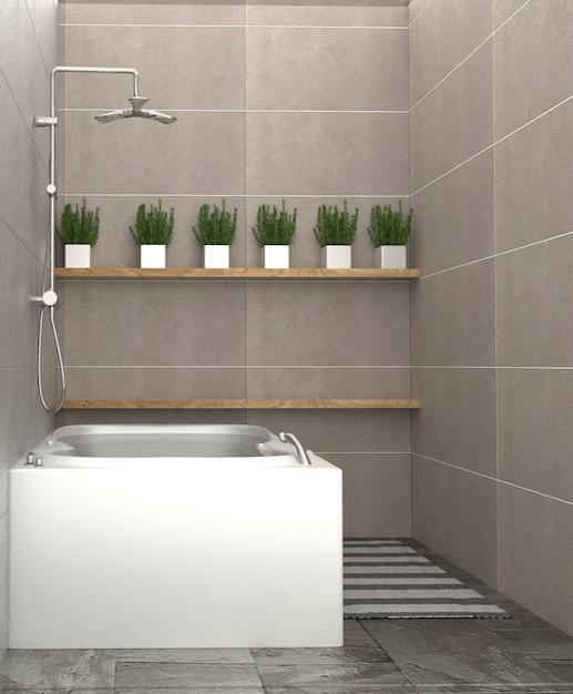 Cuarto de baño moderno - diseño interior del cuarto de baño ...