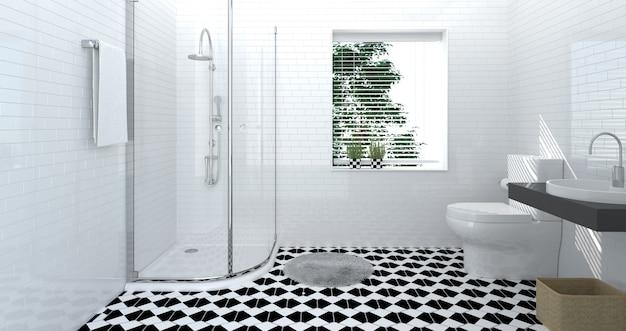 Cuarto de baño interior, lujo, ducha | Descargar Fotos premium