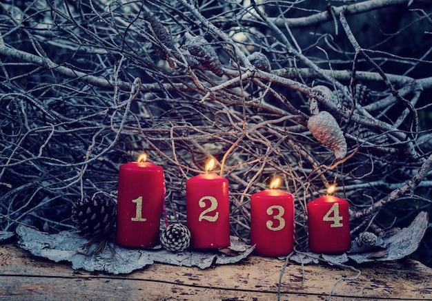 Resultado de imagen de cuatro velas de adviento